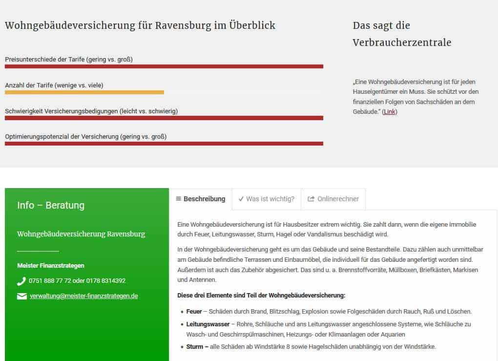 Anleitung Online-Rechner